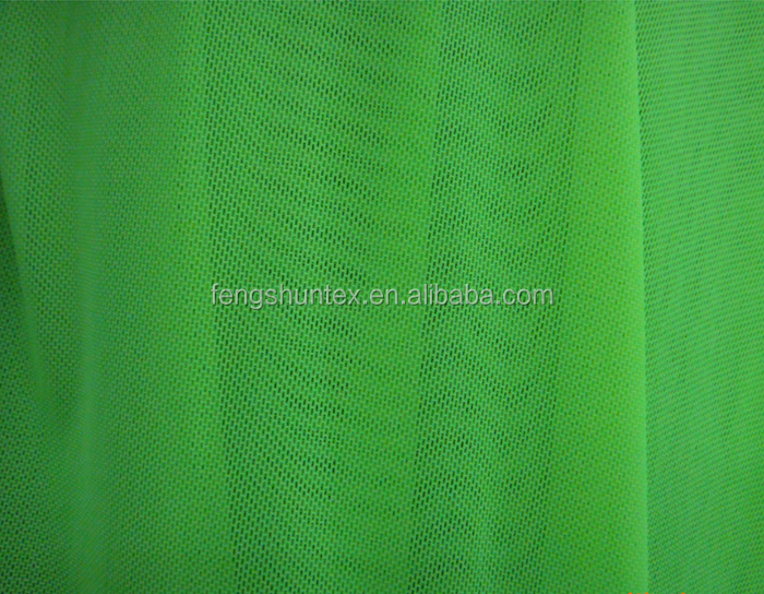 Knitted Nylon Spandex 4-Way Stretch Mesh/Net Fabric for Bra