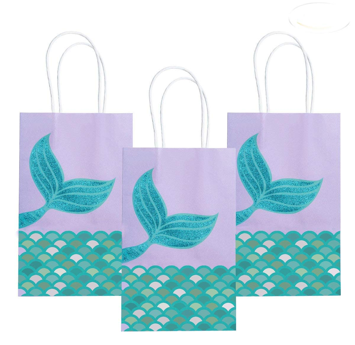 08d27cd94ac7 Get Quotations · Mermaid Party Gift Bags