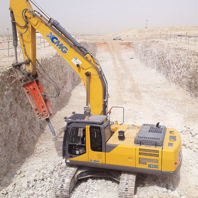 Earthmoving Machinery china  XCMG 30 ton crawler excavator XE335C  for sale