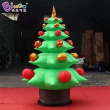 Cristmas decoration inflatable xmas tree, christmas tree with balloons