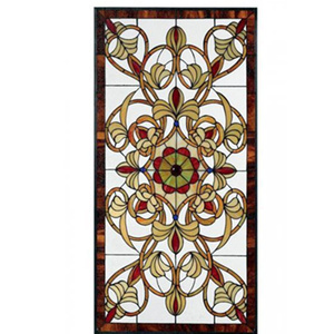 3mm tiffany stained glass for wardrobe door stained glass sliding doors used in furniture