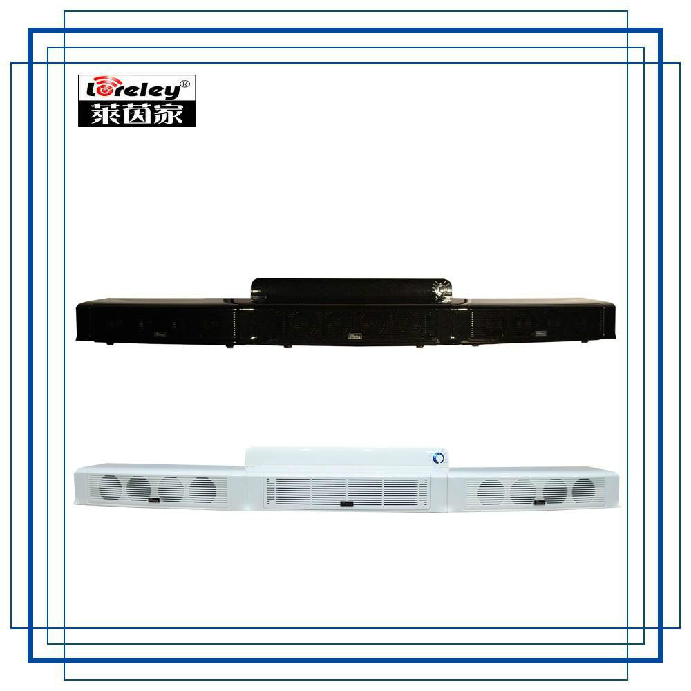 Loreley profesional 3d surround inalámbrico bluetooth altavoz de barra de sonido