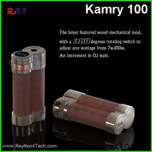 Hottest Variable Wattage 7 - 100W Ecig kamry 100 wooden box mod