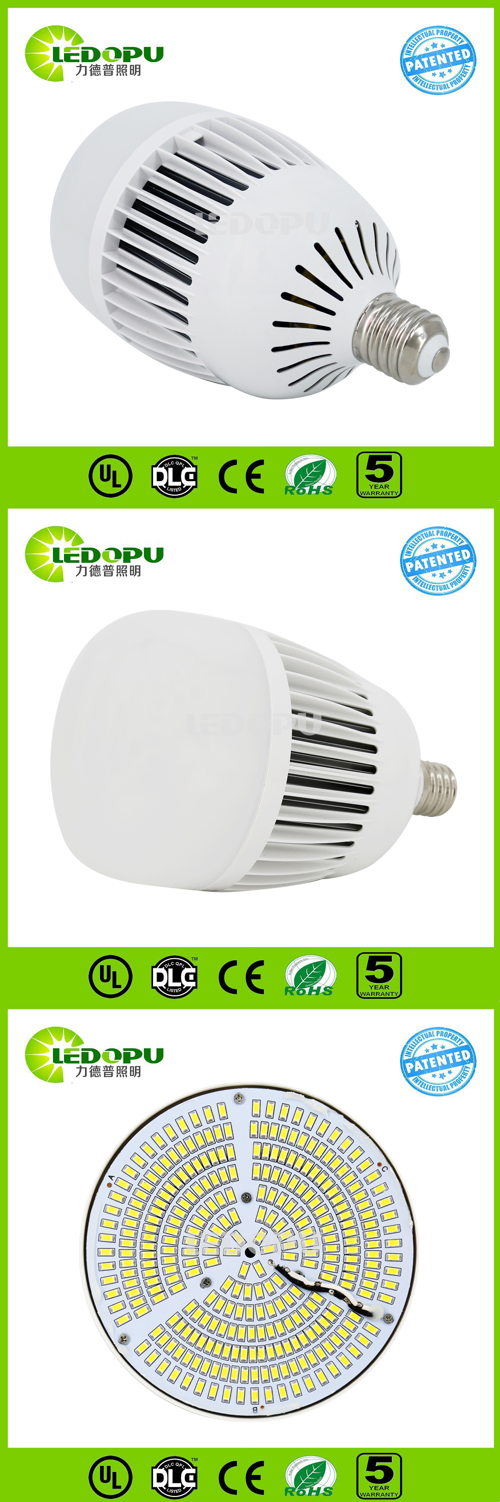 Motion Sensor Lumi Re 110 V 220 V 100 W E40 Culot De La Lampe Led
