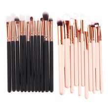 2017 12pcs Eye Makeup Brushes Rose Gold Makeup Brush Set For Eyeshadow Eye Cheeks A Healthy And Natural Glow Brushes Tool