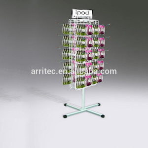 40 Prong -2 sided metal wire hook display