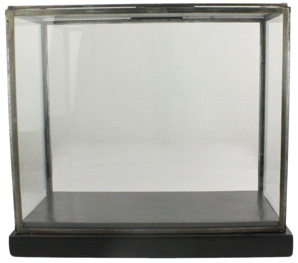 Pierre Glass Showcase Display Box, Black, Large