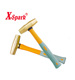 Fibre Handle Brass Hammer Non Marring Mallets, Drum Type
