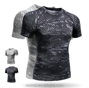 Summer Men's Compression Tops Quick Dry T-Shirts Shirt Top T Shirt Man Clothing