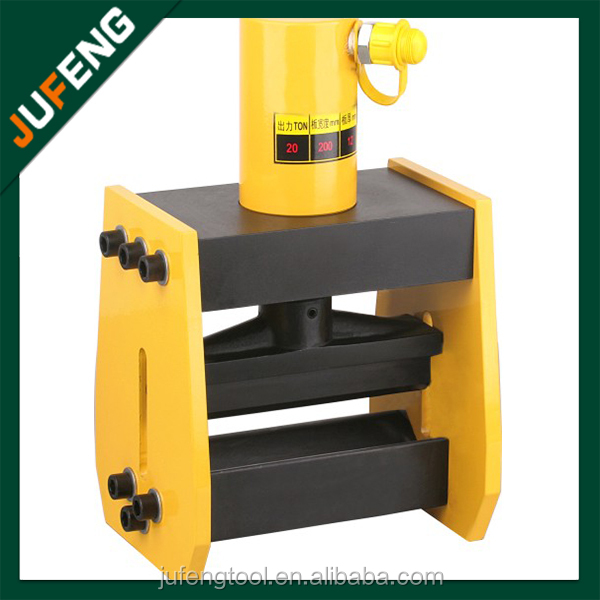 CB-200A portable hydraulic brass bender type hydraulic busbar bender