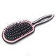2017 professional goody styling hair brushes italy plastic oval hairbrush with nylon bristle