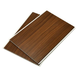 wood color laminated Interior Decoration Plastic PVC Ceiling Panel for walls