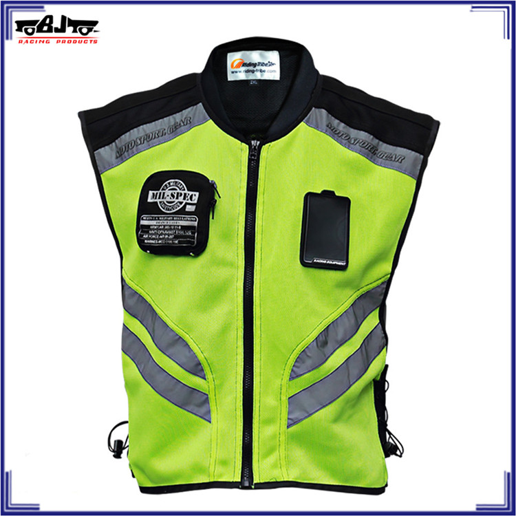 BJ-JK22 Motorcycle Vest Motorbike Riding Racing Visible Reflective Safety Jackets