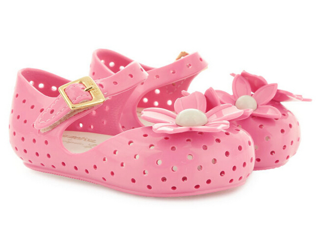 Toddler//Little Kid Voberry Baby Girls Dot Sandal PU Floral Open Toe Rubber Soled Princess Shoes