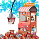 Ice cream vending machine truck ice cream cart shop freezer