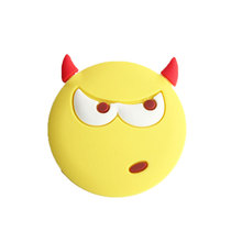 Hot sell funny emoji cute smile face soft PVC fridge magnet