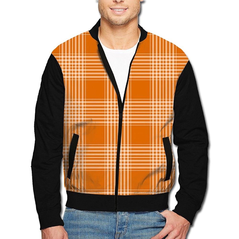pujingge Mens Winter Warm Zipper Thicken Hoodies Fleece Down Jacket Coat