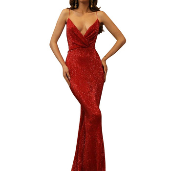 Long Red Prom Dresses Alibaba Dubai Women Party Dress Long Ladies