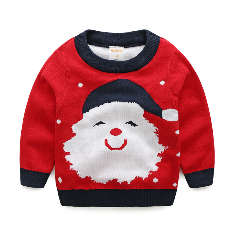 Ms83452m Winter European Kids Boys Christmas Sweater Design - Buy ...
