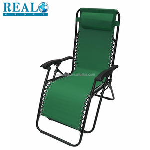 Folding Plastic Chair With Armrest Metal Outdoor Zero Gravity Chair Garden Outdoor