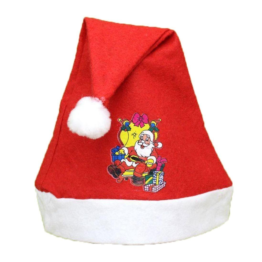 fa9c36835a2a3 Get Quotations · GQMART Adult Christmas Hats Fashion Holiday Xmas Cap For  Santa Claus Gifts