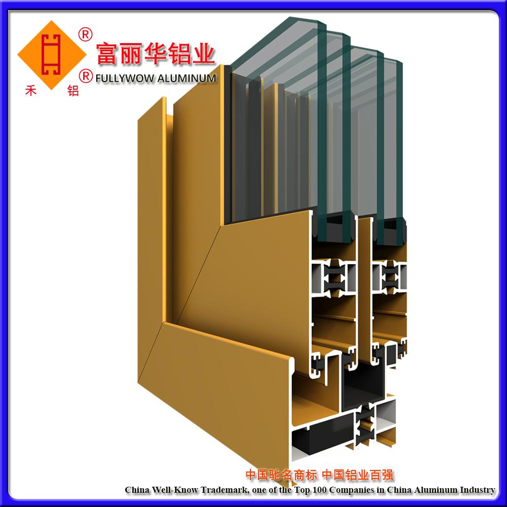 Serie zj50 finestre a battente in alluminio a iniezione - Finestre a risparmio energetico ...