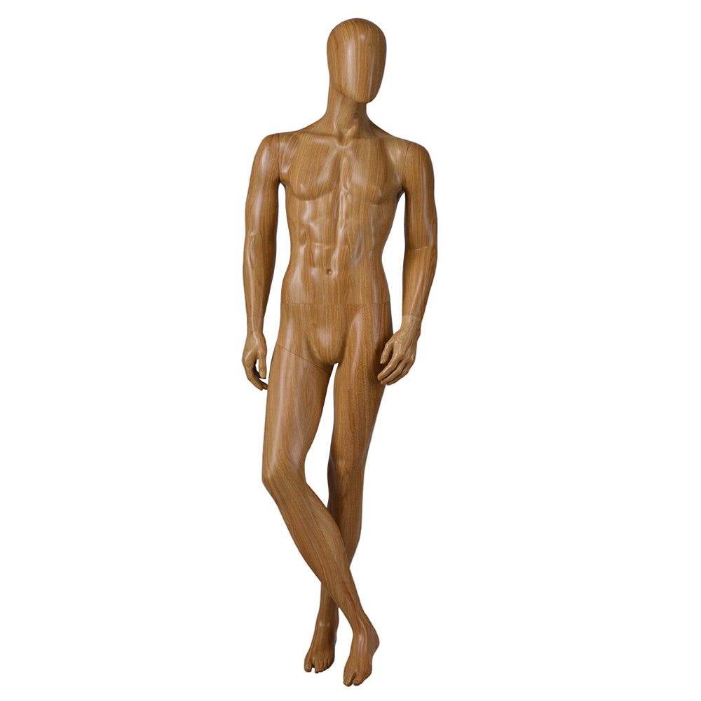 Vintage water transfer printing fitting clothes muscle display sports full body mannequin male