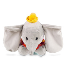 Wholesale cheap price nice craft customized plush toy stuffed grey elephant with small hat