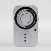24 hour small mechanical automatic timer switch 220v mini 30 minute countdown mechanical plug in timer