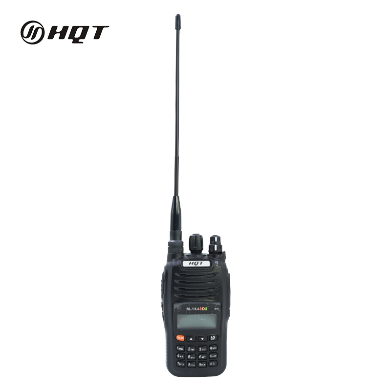 Atacado VHF UHF Dual Band Walkie Talkie com Display LCD Handheld Rádio Ttwo Way
