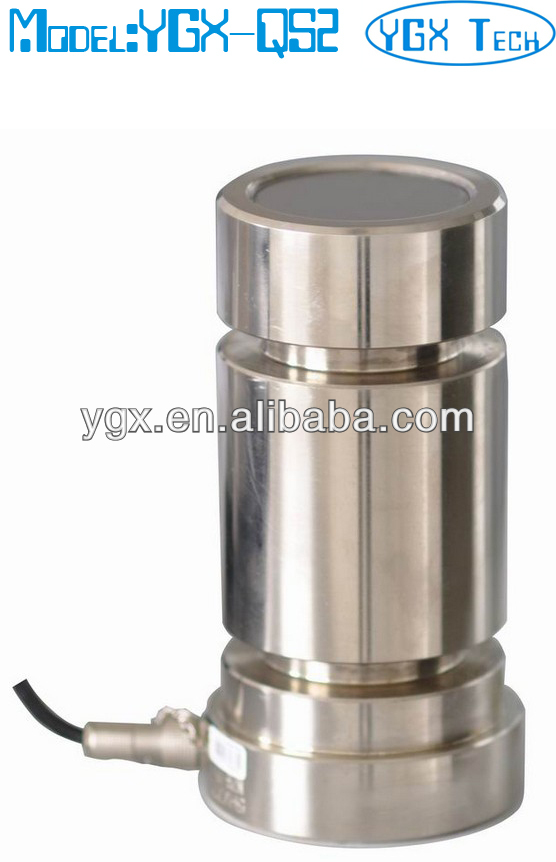 Pin load cell for construction lifter