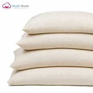 100% cotton hard custom neck Rectangular organic Buckwheat Hull Pillow
