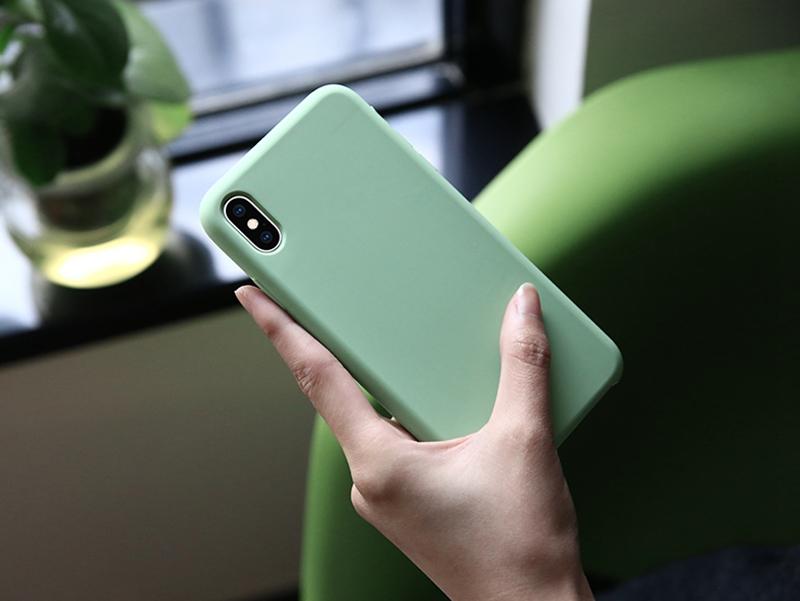 Gut verkaufen mädchen Freies Probe Handy Fall für iPhone 8, freies Verschiffen für iPhone 6 s 8 plus xsmax xr Silikon Handy Fall