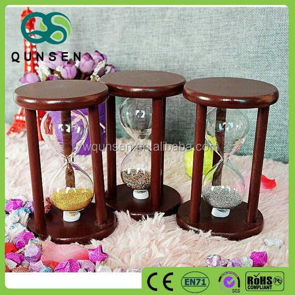 new products antique wooden large hourglass