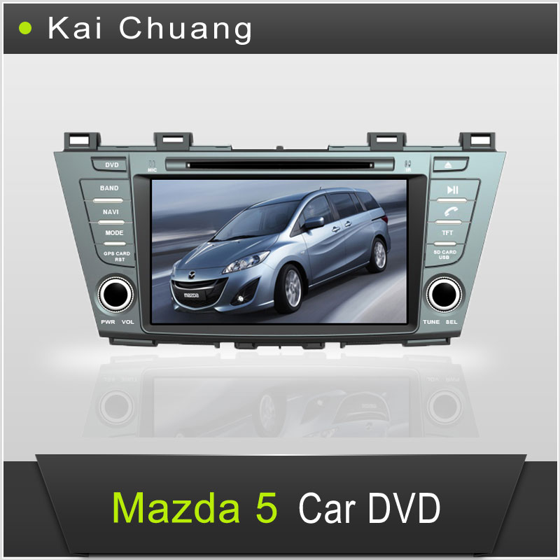 8 inch Car GPS Navigation Mazda 5 Car DVD with Good Quality