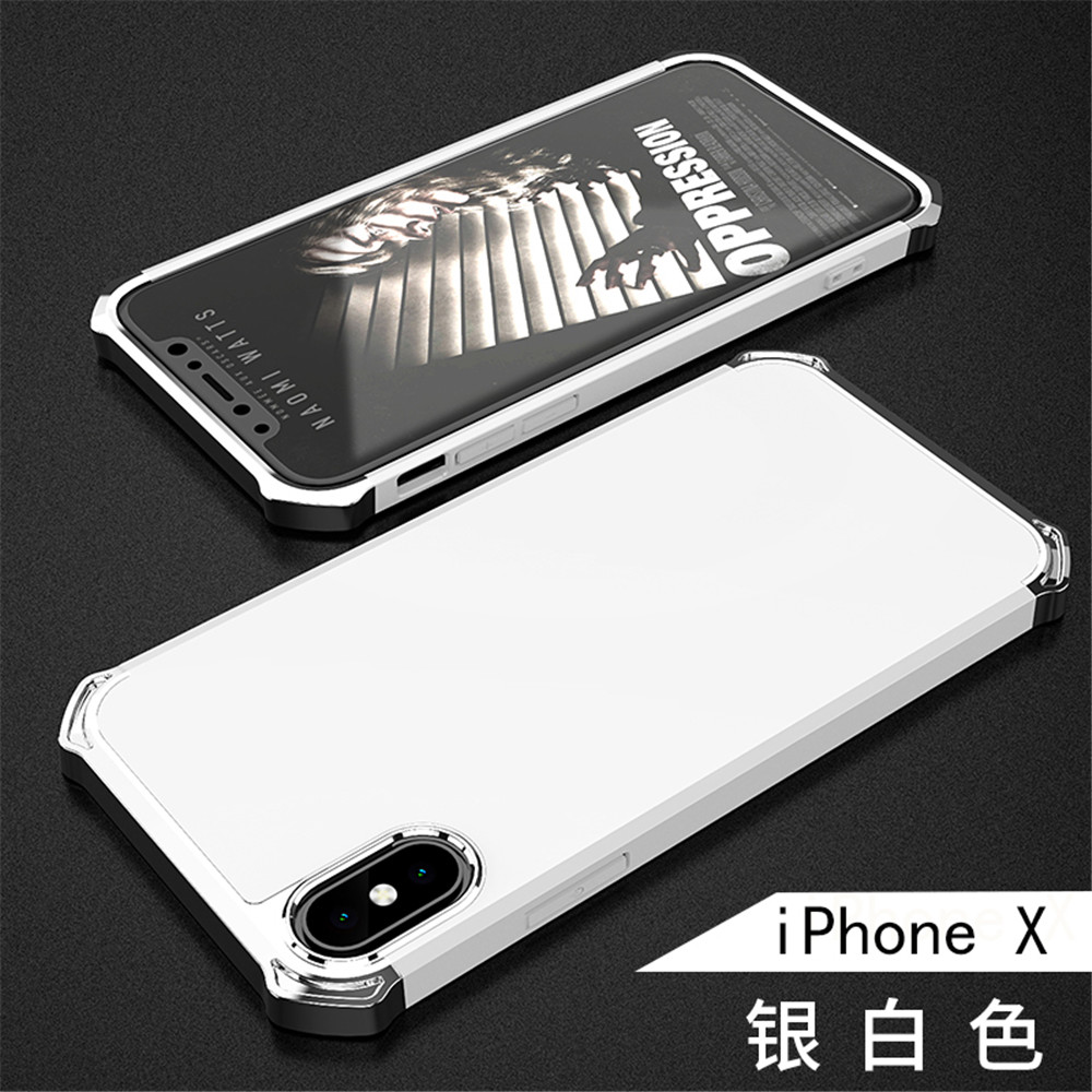Hotsell Unicorn Series PC Shockproof Anti-fingerprint Back Cover Armor Phone Shell Case for Apple iPhone X