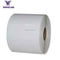 1 Roll of 500 -Zebra compatible 4x6 Direct Thermal Labels shipping label