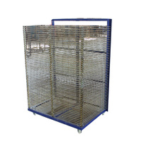 cheap high quality printing machine silkscreen printing drying racks