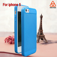 Soft Slim Ultra Thin Colorful Rubber TPU Case for Iphone 5, for IP5 Special design mobile TPU cover
