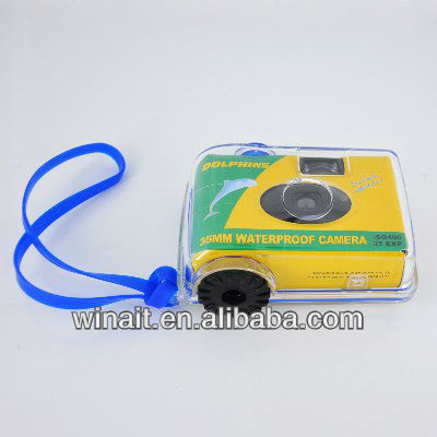 cheap disposable film camera with 35mm film waterproof