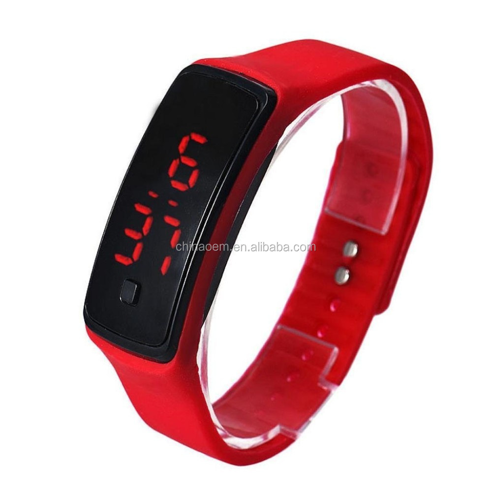 e4cd0c96f 2016 New Fashion Square Dial LED Bracelet Digital Watches For  Men Ladies Child Clock Womens Wrist Watch Sports