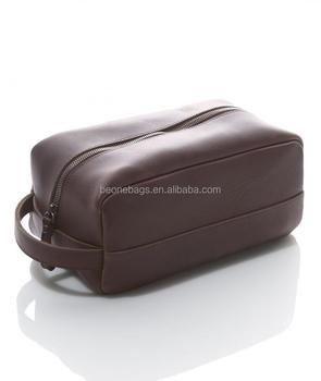 c0b9088b5a Hanging Travel Shaving Bag Leather Toiletry Bag For Men Dopp Kit ...