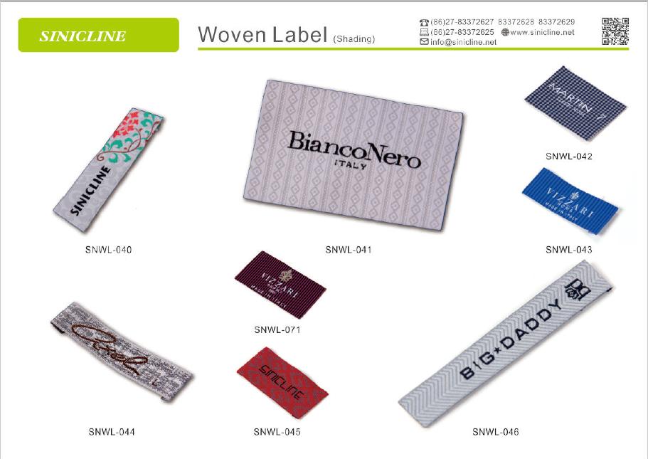 Sinicline heat press clothing label cheap low moq fast for Heat press shirt labels