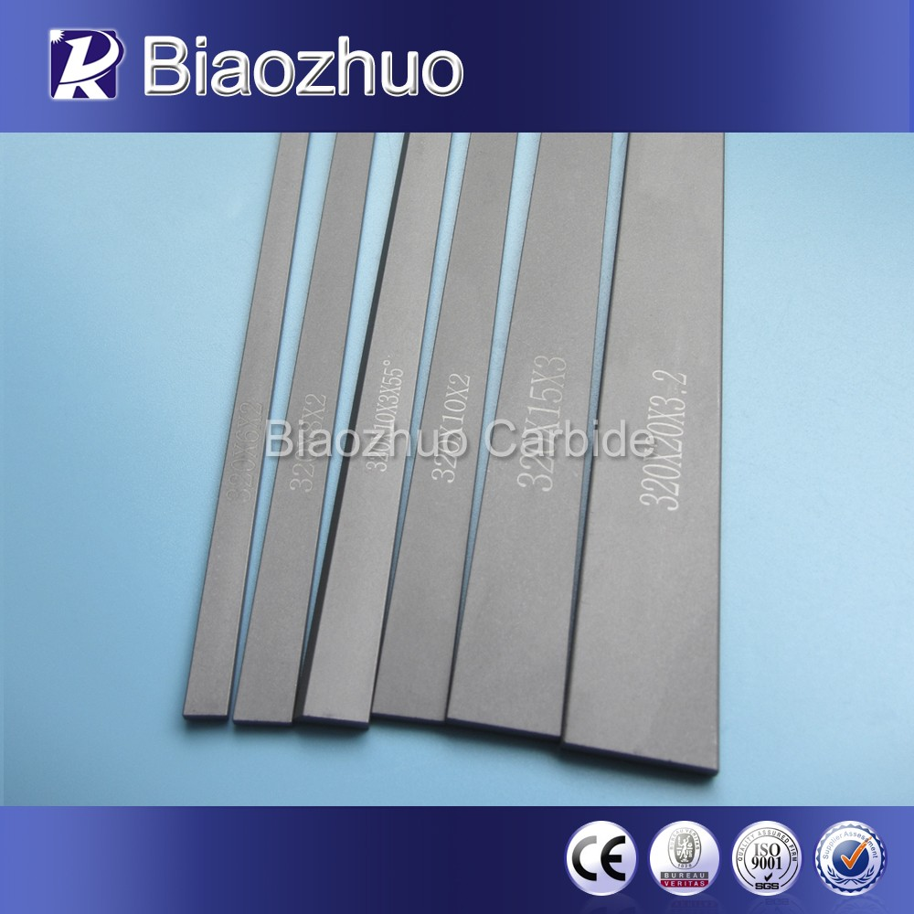 Hunan manufacturers yg8 widia tungsten carbide strips for making machinery tool wear parts