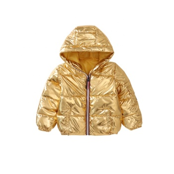 China wholesale solid color coat girls and boys winter clothing & kids wear
