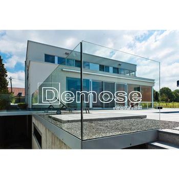 Vetro Balcone Pannelli/disegni Ringhiera Per Terrazzo/alluminio ...