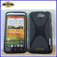 2013 Hot Selling Soft X line tpu gel wave case cover for HTC ONE X G23 S720E