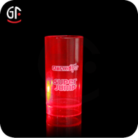 Bar Favors Heat Resistant Led Light Up Drinking Glass With Your Logo