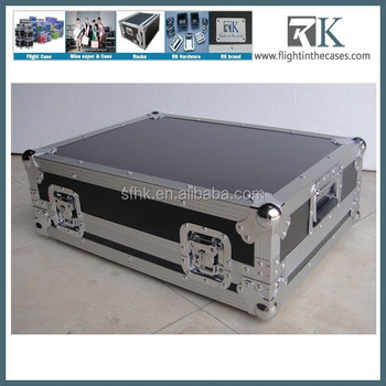 RK DJ flight cases /dj laptop stand/ DJ coffin cases with tables for pioneer cdj 2000