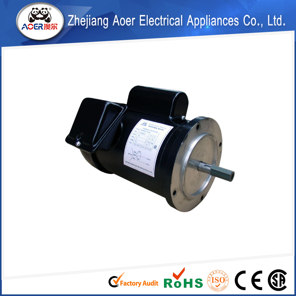Single phase ac single phase electric water pump motor for Single phase motor price